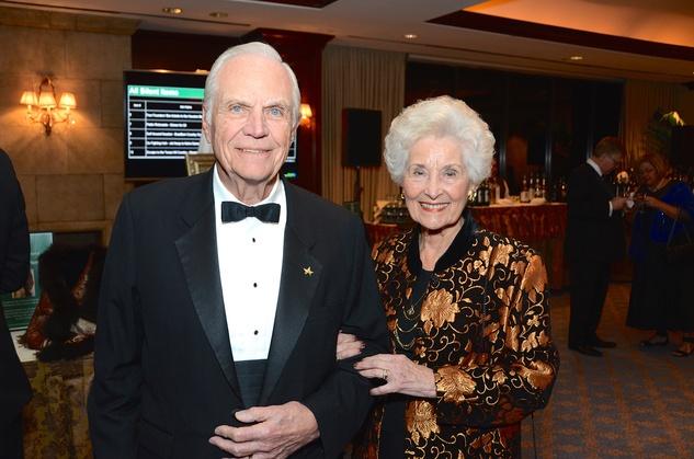 Bob and Gayle Longmire at the Irish Gala November 2014