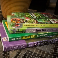 Photo of gardening books