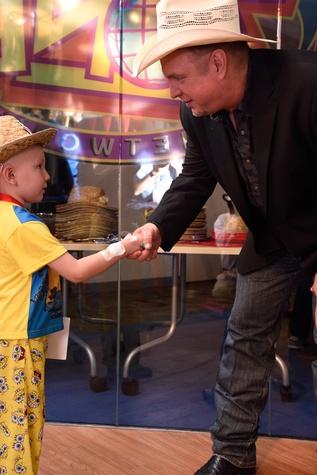 Garth Brooks at grand opening of renovated Texas Children's Hospital Child's Zone