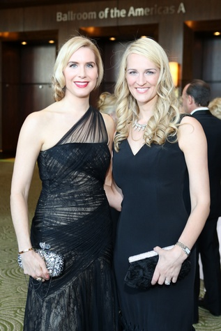 Symphony Ball, May 2015, Audrey Cochran; Catherine Matthews