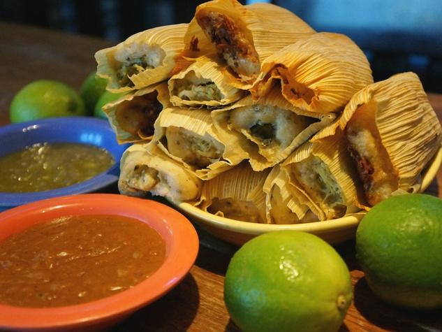 Blue Goose Cantina, tamales