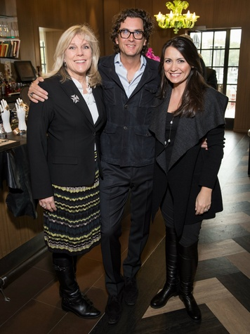 Paige Flink, Todd Reed, Kimberly Schlegel Whitman, Ylang 23 Todd Reed Event
