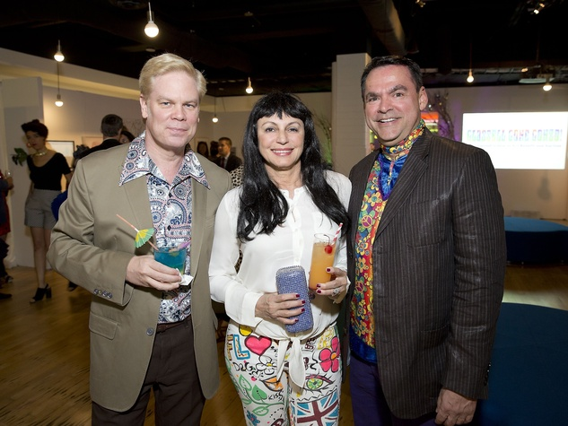 Glassell Benefit and Auction 2015 Alfred C. Glassell, III; Marli Andrade; Jesse Garza=