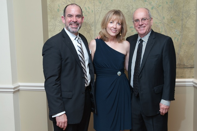 69 John Bradshaw Jr., from left, with Kellye Sanford and Fritz Lanham at the River Oaks Chamber Orchestra Gala September 2014