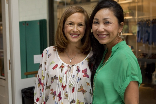 News_Define West U grand opening_May 2012_Anne Lewis and Stephanie Nguyen.jpg