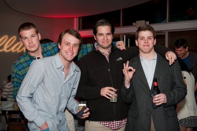 Rob Lambeth, Ned Wilson, Mark Butler, Brian Mitchell