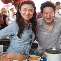 Alicia Hou, from left, Alex Woo, Alex Barney and Sara Hansen at the Casa de Esperanza's Young Professionals 5th Annual Chili Cook Off February 2015