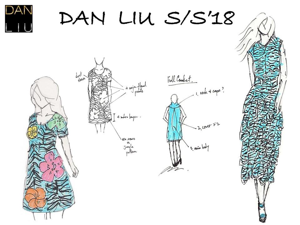 Dan Liu designer inspiration spring 2018