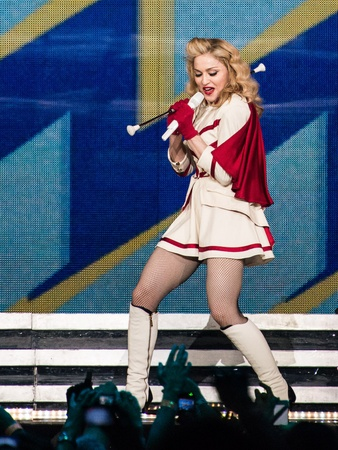 3, Madonna concert, October 2012