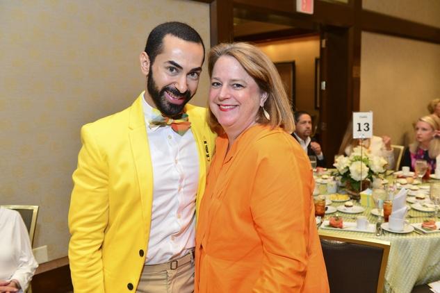 295 Fady Armanious and Shelley Ludwick at Heroes and Handbags May 2014