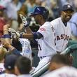 Dexter Fowler Astros celebration