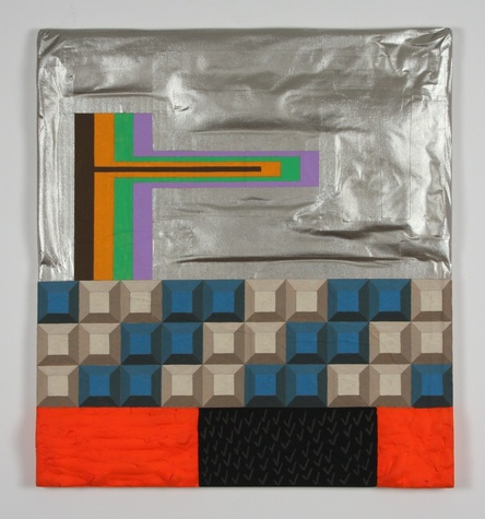 """A work from CentralTrak's upcoming exhibition """"Failing Flat"""" by NYC artist Ivin Ballen, curated by Nathan Green"""
