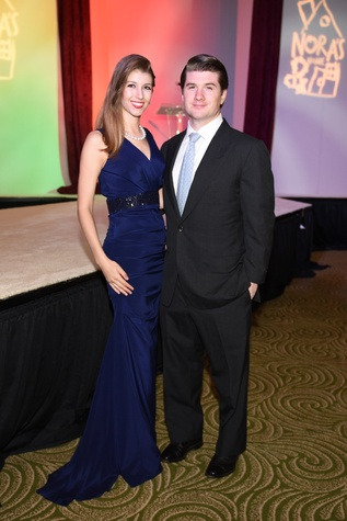 Nora's Home Gala 2015 Tess and Adam Harden