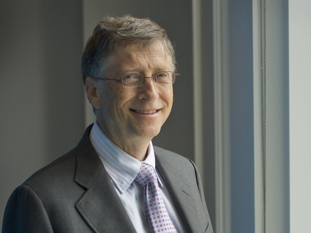 Bill Gates head shot horizontal