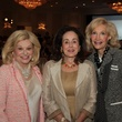2923 Sidney Faust, from left, Betty Tutor and Diane Gendel at the Menninger Luncheon May 2014