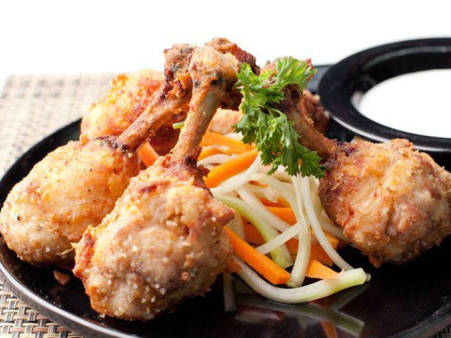 Chicken lollipops at Moviehouse & Eatery
