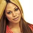 Laverne Cox red dress pretty