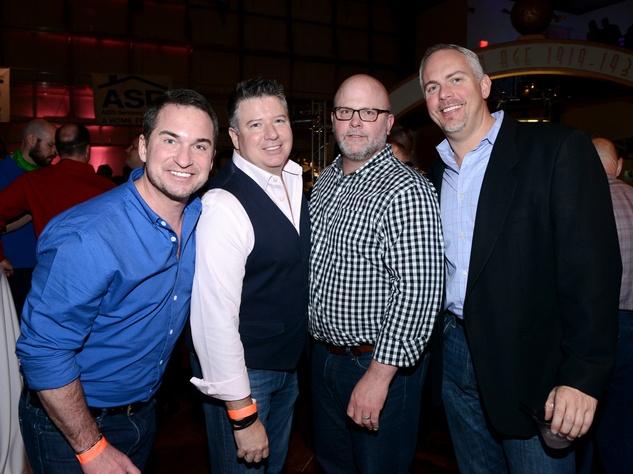 Brian Black, Kenny Night, Porter Curr, Randy Rice, No Tie Party