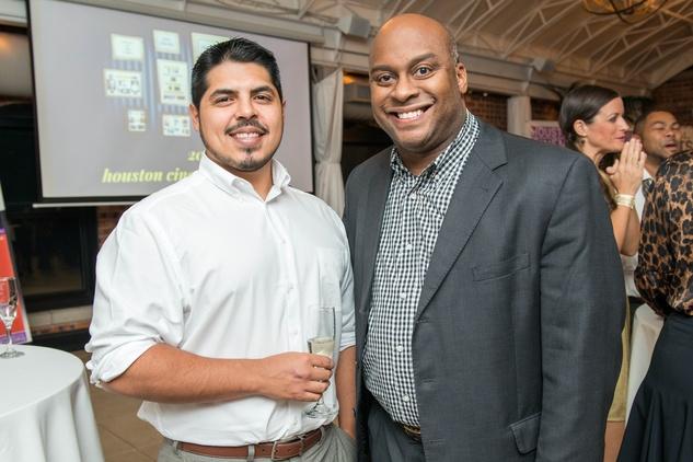 News, Shelby, Houston Cinema Arts Festival launch, Oct. 2014, Omar Garcia, Jovon Tyler