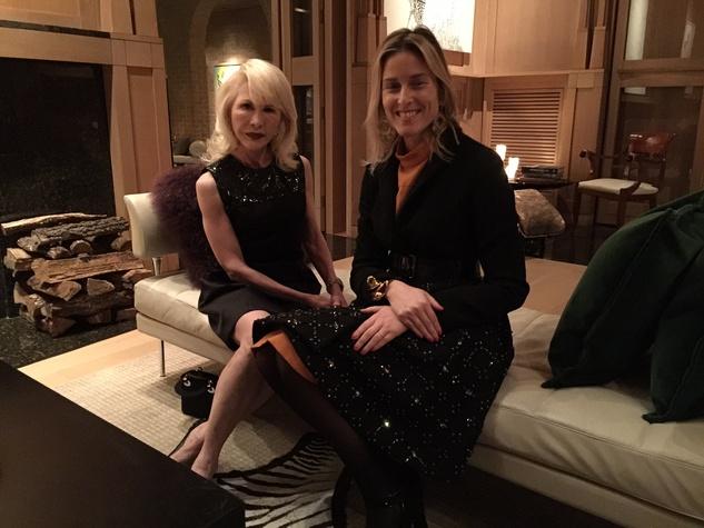 Liaisons au Louvre IV party, Jan. 2016, Diane Lokey Farb, Anne Benichou