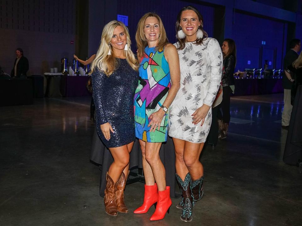 Austin Rodeo Gala 2018 Fashion Katherine Bible Rachel Schuler Lauren Schuler