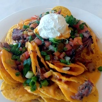 Houston, Texans whats new at NRG Stadium event, August 2017, nachos