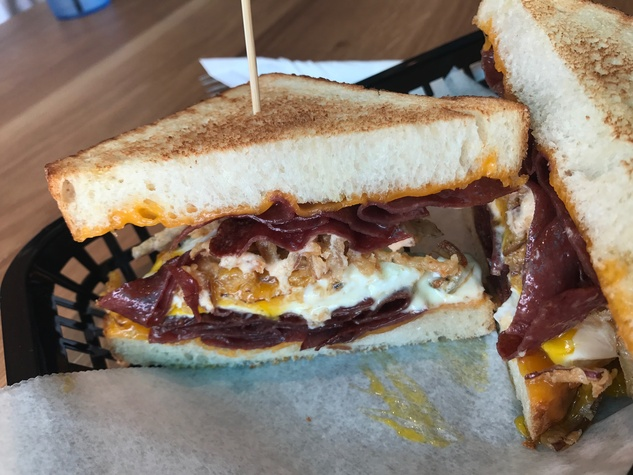 Local Foods downtown egg sandwich