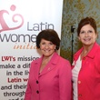 11 Glenda Kirshbaum, left, and Kathy Foster at the Latin Women's Initiative Luncheon October 2014