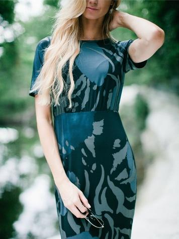The Maxwell Dress in shades, Morgan James, 350