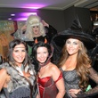 4 Cary Tito, from left, Sheila Ybarra and Kelly Gurevich at Hotel ZaZa's Halloween party October 2013