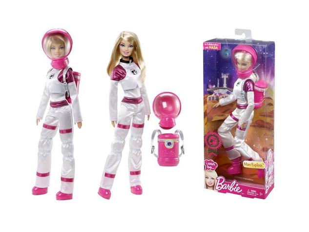 Mars Explorer Barbie doll NASA