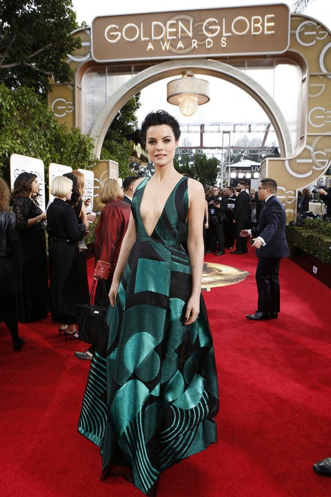 Jaimie Alexander at Golden Globe Awards