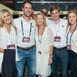 Houston Texans season opener, 9/26  Jourdan Ellis, Holt McNair, Kate McNair, Darren Lindamood, Anna McNair