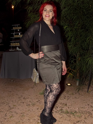 Tribeza Fashion Show 2014 Michelle Vance