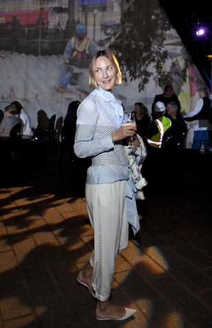 Tatiana Massey at the Glassell School benefit and auction May 2014