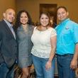 Rafael Holasel, Maria Holasel, Rubie Huerta, George Huerta at HEB Primo Picks party