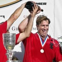 News_John Goodman_polo player_champagne