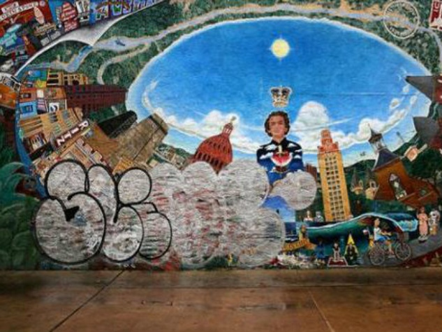 Austintacious mural vandalized