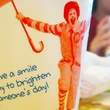 McDonald's cup with Ronald McDonald