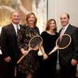 Randy and Sara Ortwein, from left, and Renee and Steve Ash at the Houston Tennis Association Gala February 2014