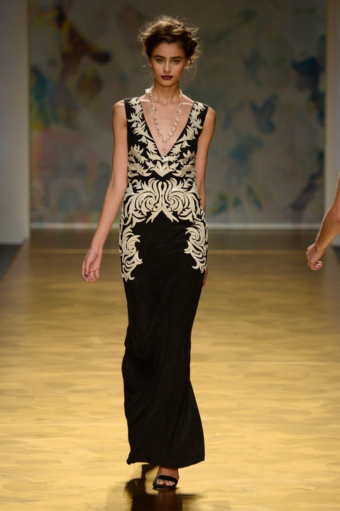 Nicole Miller gown spring 2014 collection