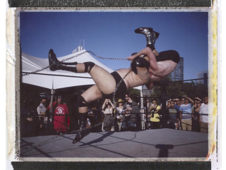 Fun Fun Fun Fest wrestling