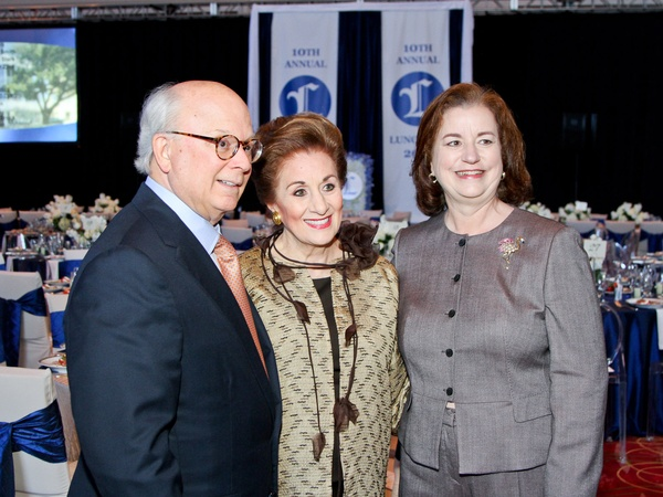 Legacy Luncheon, September 2012, Glenn Bauguss, Martha Turner, Katy Caldwell, list 4