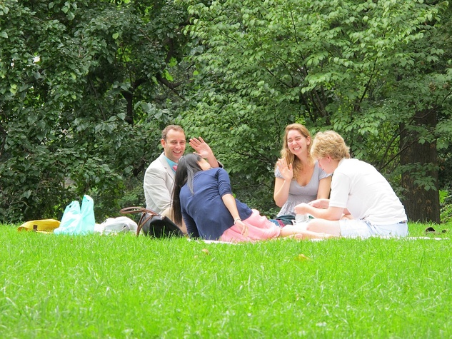 News_Katie_9-11_A picnic in Central Park