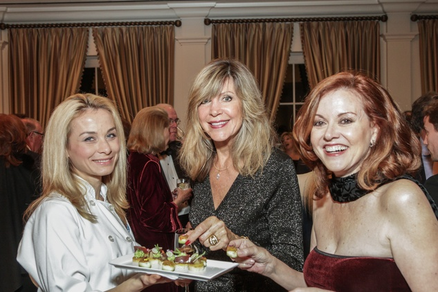 6 Irina Alamkan, from left, Anne Cress and Katina McDannald at the Gaston LeNotre Scholarship Gala February 2015