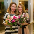 "Dena Williams, left, and Charly Weldon at ""The Beacon"" dinner September 2014"