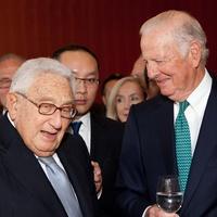 Henry Kissinger, James A. Baker III, March 2013