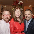 3 Shelby Kibodeax, from left, Elizabeth Stein and Bruce Padilla at the Best Friends Brunch benefiting aniMeals on Wheels February 2015