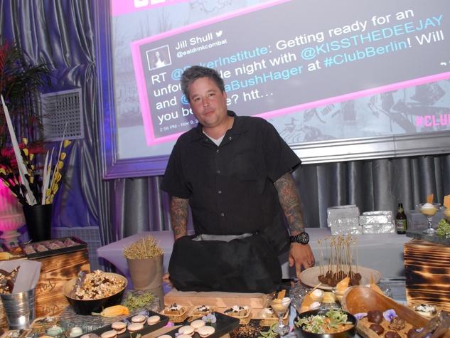 8 4062 chef Philip Speer of Uchi at Club Berlin Baker Institute party November 2013