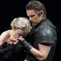 Macbeth on Broadway with Ethan Hawke and witch